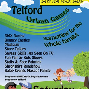 poster design telford fun day